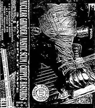 Mastic Scum / Cripple Bastards - 3 Way Split Tape