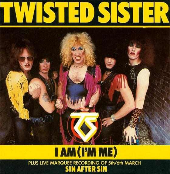 Twisted Sister - I Am (I'm Me)