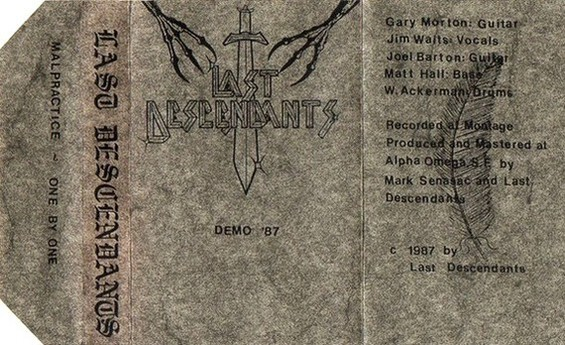 Last Descendants - Demo '87