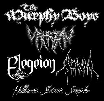 Elegeion / Greydawn / Vahrzaw / The Murphy Boys - Hellburn's Slutanic Sampler