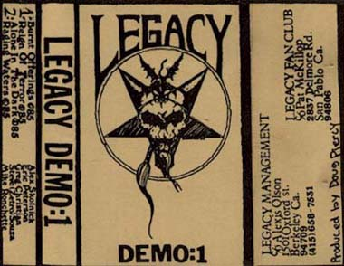 "True Metal Torrents    Legacy ""Demo 1985"" preview 0"