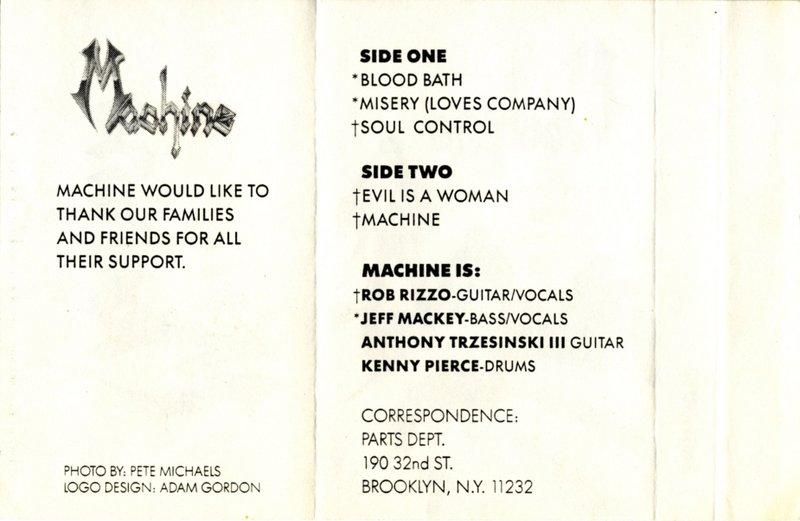 Machine - Demo '87