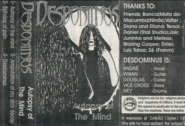 Desdominus - Autopsy of the Mind