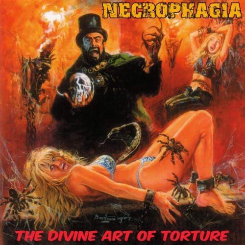 Necrophagia - The Divine Art of Torture