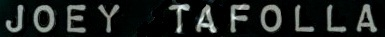 Joey Tafolla - Logo