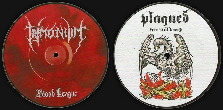 Trimonium / Plagued - Blood League / Fire Still Burns