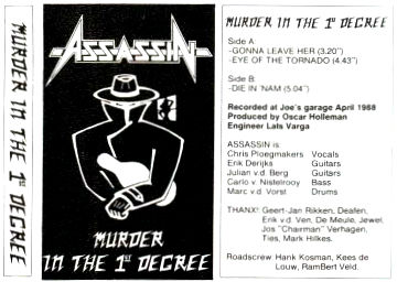 Assassin - Murder in the First Degree