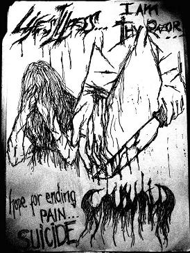 I am Thy Razor / Hope for Ending Pain... Suicide cover (Click to see larger picture)