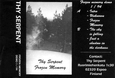 Thy Serpent - Frozen Memory