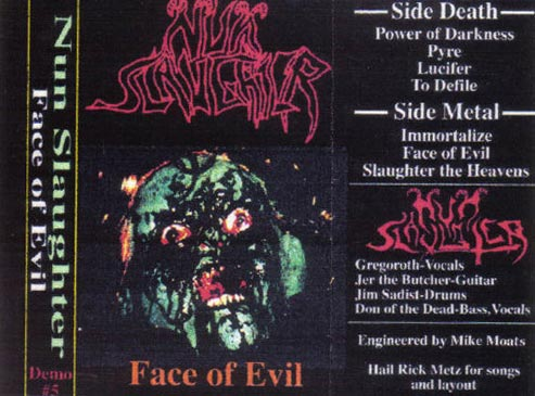Nunslaughter - Face of Evil