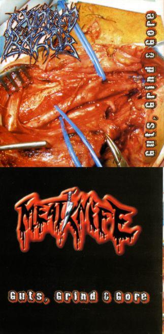 Oxidised Razor / Meatknife - Guts, Grind & Gore