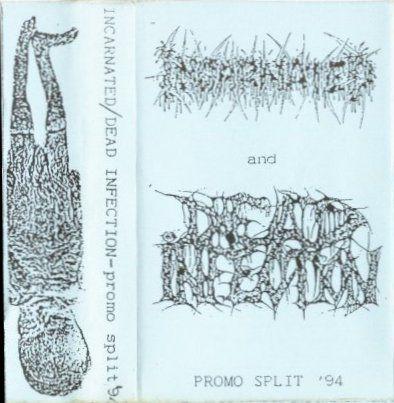 Dead Infection / Incarnated - Promo Split '94