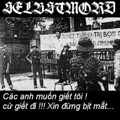 Selbstmord - Các anh muốn giết tôi! Cứ giết ði!!! Xin ðừng bịt mắt...
