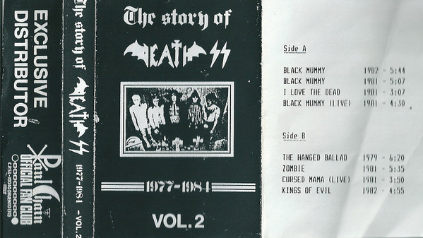 Death SS - The Story of Death SS Vol. 2