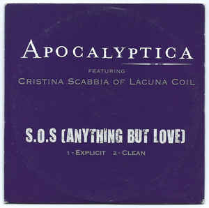 Apocalyptica - S.O.S. (Anything but Love)
