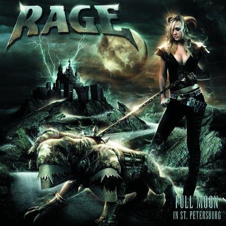 Rage - Full Moon in St. Petersburg