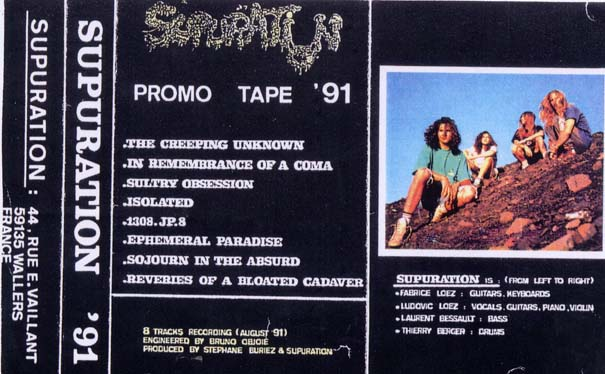 Supuration - Promo tape '91