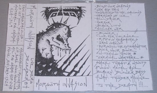 Voivod - Morgöth Invasion