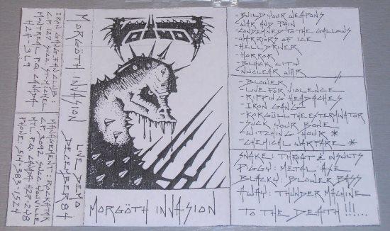 Voivod - Morgöth Invasion
