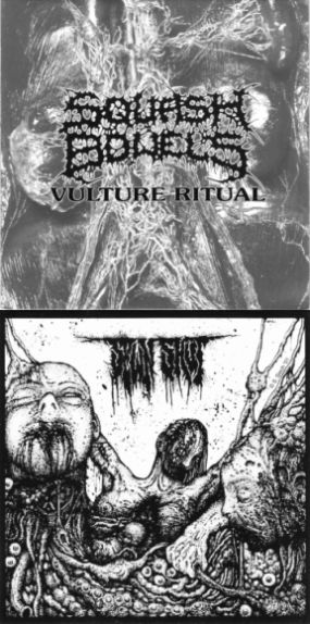 Squash Bowels / Sewn Shut - Vulture Ritual / Untitled