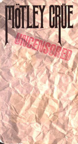 Mötley Crüe - Uncensored