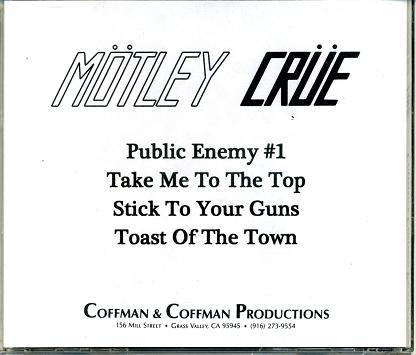 Mötley Crüe - The First Demo