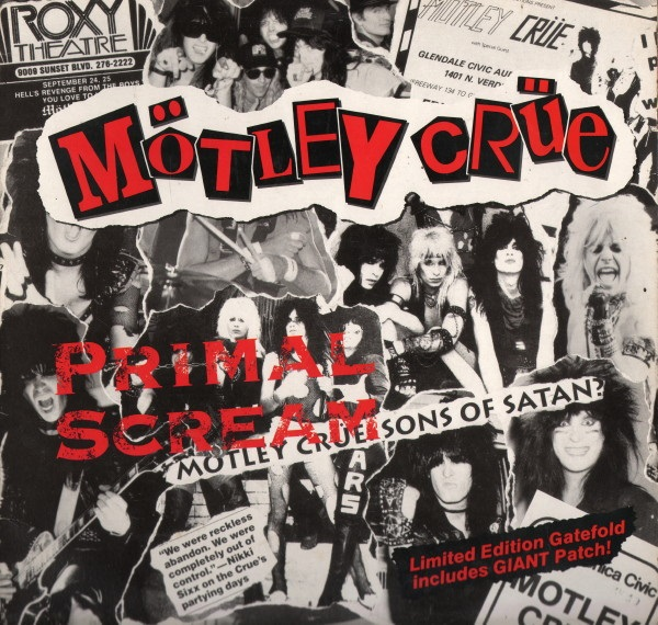 Mötley Crüe - Primal Scream