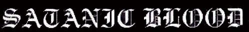 Satanic Blood - Logo