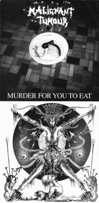Malignant Tumour / Vômito - Murder for You to Eat / Untitled