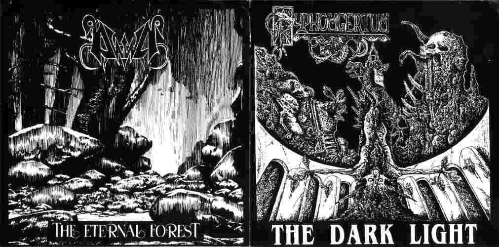 Dawn / Pyphomgertum - The Dark Light / The Eternal Forest