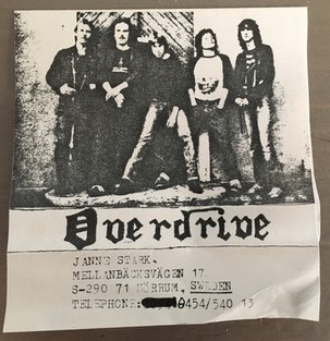 Overdrive - '80 Demo