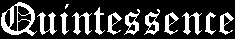 Quintessence - Logo