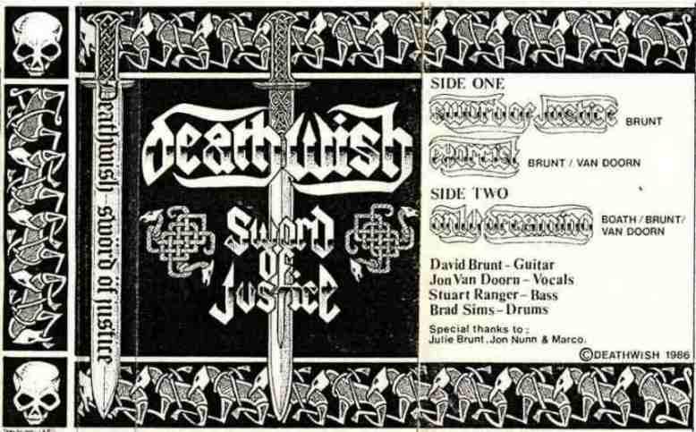 Deathwish - Sword of Justice