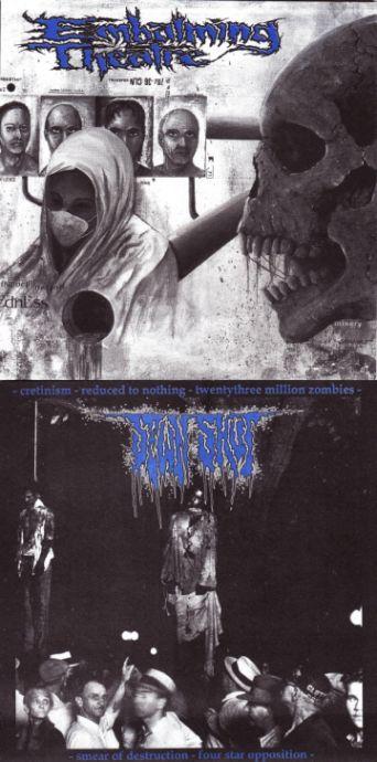 Embalming Theatre / Sewn Shut - Sewn Shut / Embalming Theatre