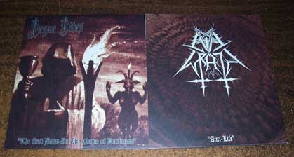 Pagan Rites / Evil Wrath - The First Born - In the Name of Darkness / Anti-Life