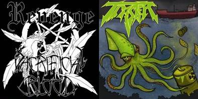 Sacrificial Blood / Trasher - Revenge / Radioactive Squid