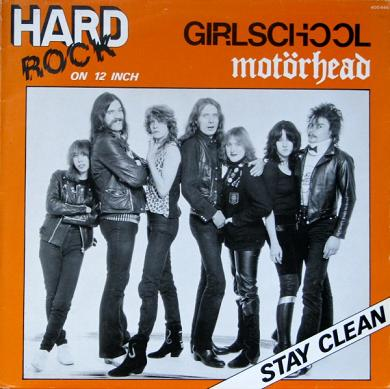 Motörhead / Girlschool - Stay Clean