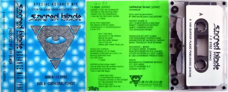 Sacred Blade - Advance Mix 1990