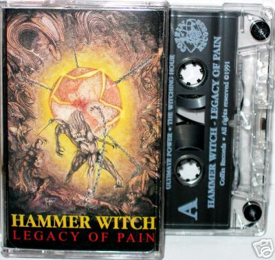 Hammer Witch - Legacy of Pain