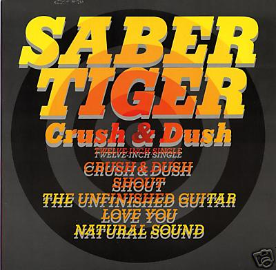 Saber Tiger - Crush & Dush