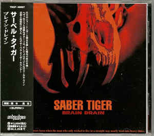 Saber Tiger - Brain Drain