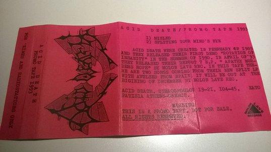 Acid Death - Promo Tape 1993