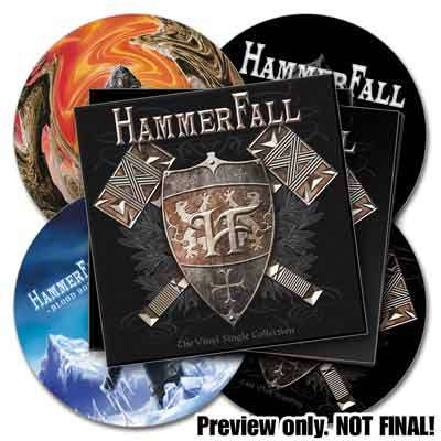 HammerFall - The Vinyl Single Collection