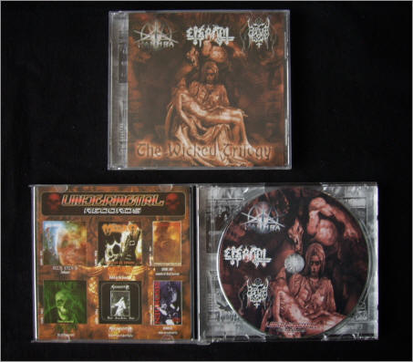 Rapture Messiah / Dark Manthra / Eternal - The Wicked Trilogy
