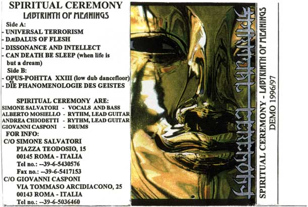 Spiritual Ceremony - Labyrinth of Meanings