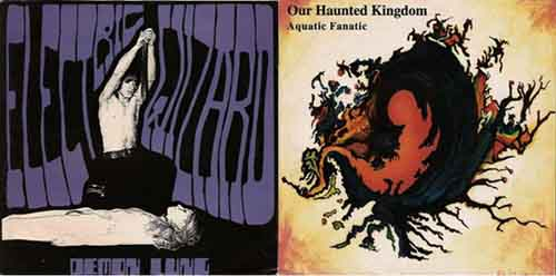 Electric Wizard / Our Haunted Kingdom - Demon Lung / Aquatic Fanatic