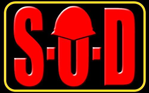 S.O.D. - Logo