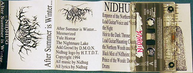 Nidhug - After Summer Is Winter...