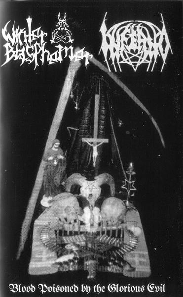 Inferno / Winter Blasphemer - Blood Poisoned by the Glorious Evil