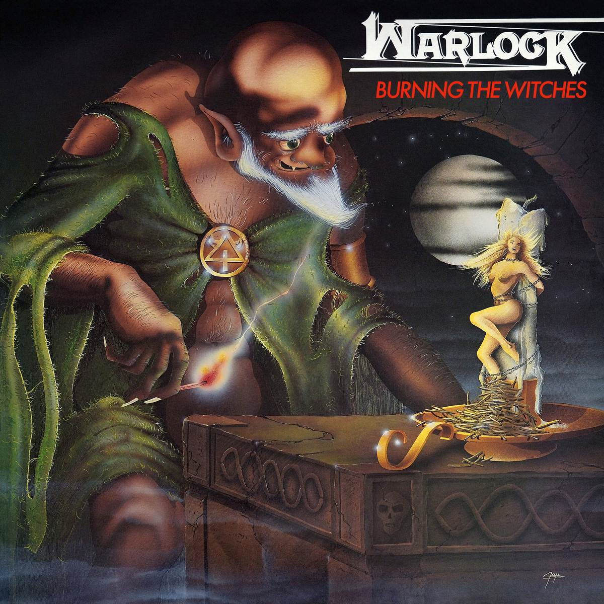Warlock - Burning the Witches